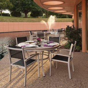 Oxford Garden Travira 36 inch Round Cafe Bistro Table