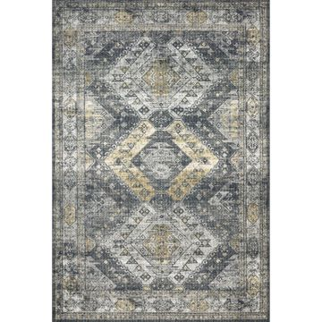 Alexander Home Leanne Traditional Distressed Area Rug